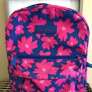 Vera Bradley Art Poppies Backpack New Without Tags